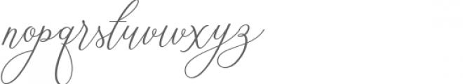 Marsya Font LOWERCASE