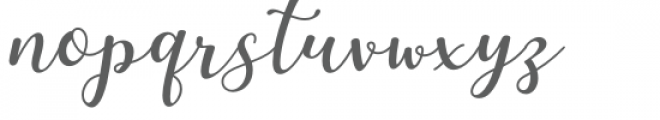 Martinesse Font LOWERCASE