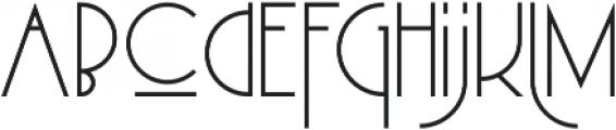 MB DECO otf (400) Font LOWERCASE