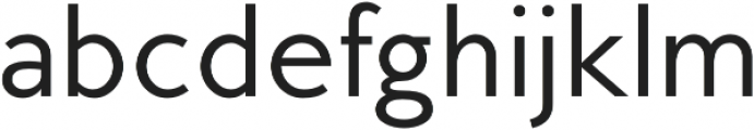 MB Empire otf (400) Font LOWERCASE