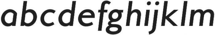 MB Empire otf (500) Font LOWERCASE