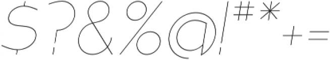 MB NOIR otf (100) Font OTHER CHARS