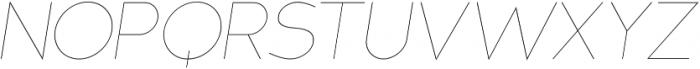 MB NOIR otf (100) Font UPPERCASE