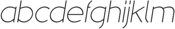 MB NOIR otf (300) Font LOWERCASE