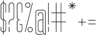 MB Narrow otf (300) Font OTHER CHARS