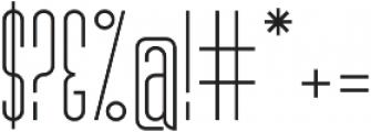 MB Narrow otf (400) Font OTHER CHARS