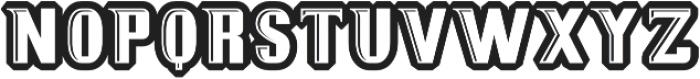 MB Sportext Composite otf (400) Font UPPERCASE