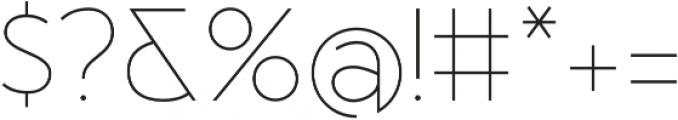 MB Vinatage otf (100) Font OTHER CHARS