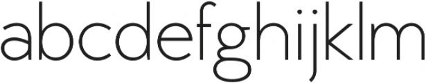 MB Vinatage otf (300) Font LOWERCASE