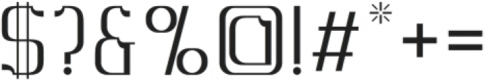 MBFAlligra otf (400) Font OTHER CHARS