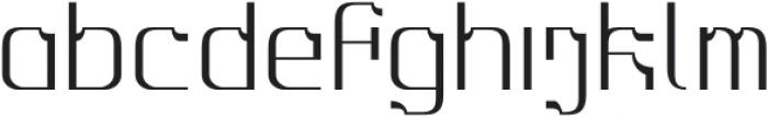 MBFAlligra otf (400) Font LOWERCASE