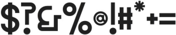 MBFGreco otf (400) Font OTHER CHARS