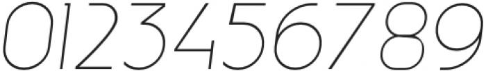 MBFNeutralJack-ExtraLightItalic otf (200) Font OTHER CHARS