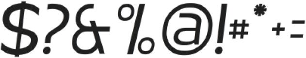 MBFNeutralJack-Italic otf (400) Font OTHER CHARS
