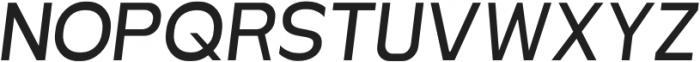 MBFNeutralJack-Italic otf (400) Font UPPERCASE