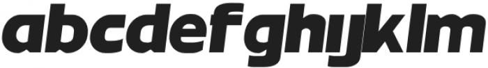 MBFNeutralJackBlack-Italic otf (900) Font LOWERCASE