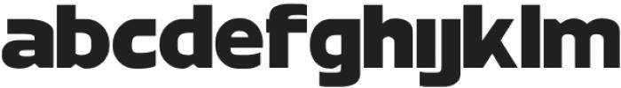 MBFNeutralJackBlack otf (900) Font LOWERCASE