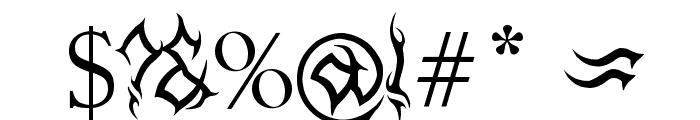 MB-Arcane Font OTHER CHARS