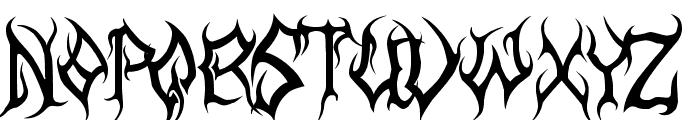 MB-Arcane Font UPPERCASE