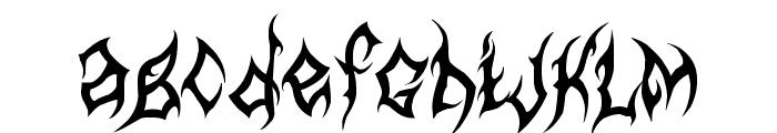 MB-Arcane Font LOWERCASE