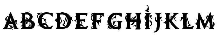 MB Demonic Tale Font LOWERCASE