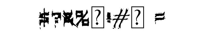 MB-Element Brutalized Font OTHER CHARS