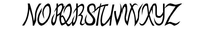 MB-ElvenType Font UPPERCASE