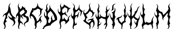 MB-GothicDawn Font UPPERCASE
