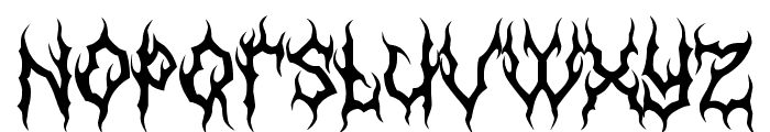 MB-GothicDawn Font LOWERCASE
