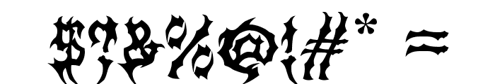 MB-Graveyard_Designs Font OTHER CHARS