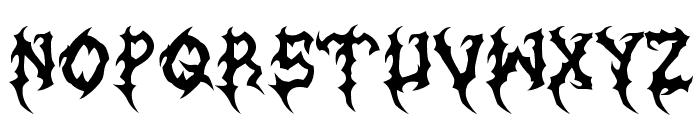 MB-Graveyard_Designs Font LOWERCASE