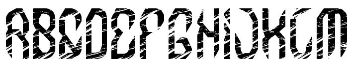 MB-InDigit Font UPPERCASE