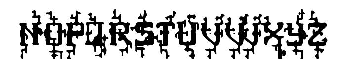 MB Poisoned Type Font UPPERCASE