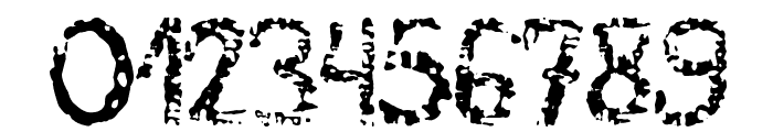 MB-RustyIron Font OTHER CHARS