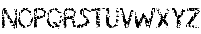 MB-RustyIron Font UPPERCASE