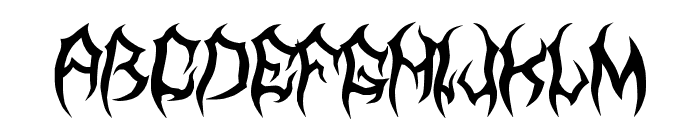 MB TyranT Font LOWERCASE