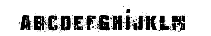 MB Underground Font LOWERCASE