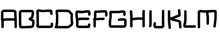 MBBlockType Font UPPERCASE