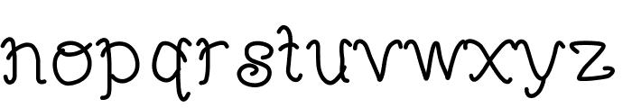 MBFunScript Font LOWERCASE