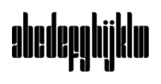 MB Sixtythree Closed Font LOWERCASE