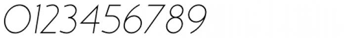 MB NOIR Light Italic Font OTHER CHARS