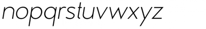 MB Vinatage Light Italic Font LOWERCASE