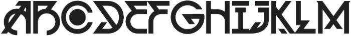 MCF Alien Delon ttf (400) Font UPPERCASE