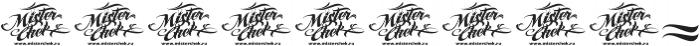 MCF AmegaStar ttf (400) Font OTHER CHARS