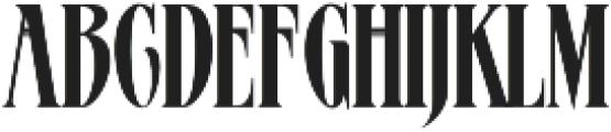 MCF AmegaStar ttf (400) Font LOWERCASE