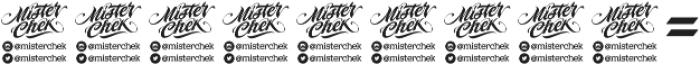 MCF Black Fox ttf (900) Font OTHER CHARS