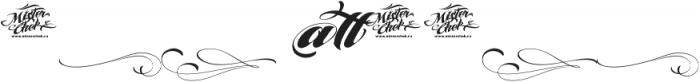 MCF Brather Script ttf (400) Font OTHER CHARS