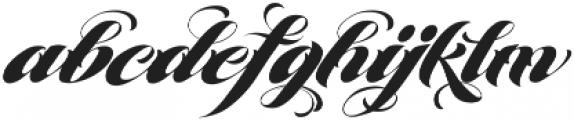 MCF Brather Script ttf (400) Font LOWERCASE
