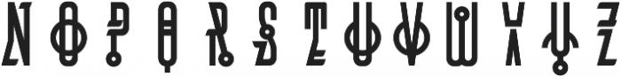 MCF Bugteriaz otf (400) Font UPPERCASE