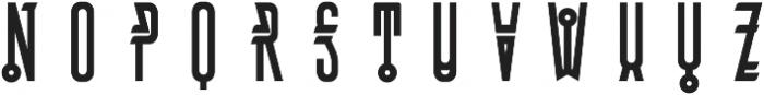 MCF Bugteriaz otf (400) Font LOWERCASE